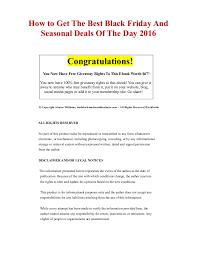 best black friday deals updating how to get the best black friday and seasonal deals of the day 2016