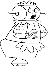 printable robot coloring pictures coloring sheets