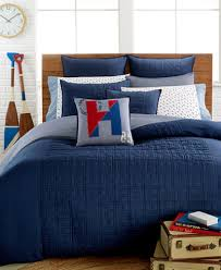 closeout tommy hilfiger academy navy bedding bedding