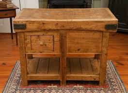 butcher block portable kitchen island amys office solid oak wood portable two drawers block kitchen island