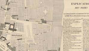 rennes map map of rennes 1830 maps and vintage prints