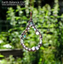 hanging ornament single drop water droplet sun catcher