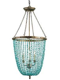 turquoise beaded chandelier home lighting home lightinguoise light fixture unique picture