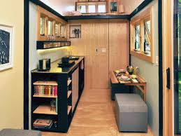 Bookshelf And Toy Box Combo Tiny House Big Living These Itsy Bitsy Homes Are Feature Packed
