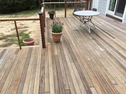 Treatment For Laminate Flooring Staining A New Deck Best Deck Stain Reviews Ratings