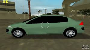 renault phoenix renault megane sedan 2001 for gta vice city