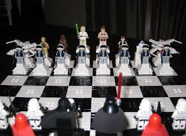 star wars chess sets dueling star wars lego chess sets wired