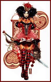 best 25 queen of hearts card ideas on pinterest