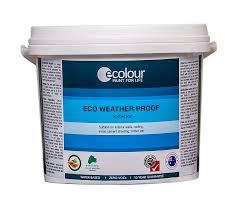 eco weather proof exterior