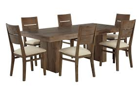 dining room design dining table with six wooden chairs nila homes