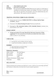 resume format for freshers engineers ecentral cover letter resume and references download how to for surprising
