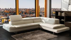 Italian Sectional Sofas by Sofas Center Versace Cleopatra Blackian Top Grain Leather Left