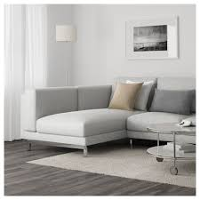 Ikea Sofabed Nockeby Sectional 3 Seat Left Left Tallmyra Rust With Chaise