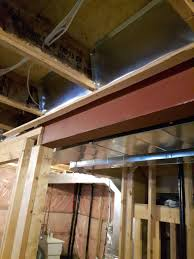 what is this metal rail in the basement ceiling home improvement
