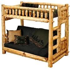 Loft Bed With Futon Underneath Futon Loft Futon Bunk Bed In Black Futon Loft Brton