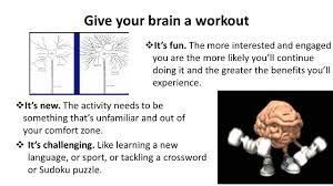 Out Of Comfort Zone Activities It U0027s A Brain Thing Making The Most Of Your Memory U0026 Study Time By
