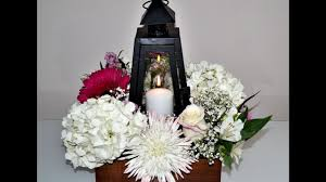 How To Make Wedding Decorations Diy Wedding Decoration Tutorial How To Make A Lantern Floral