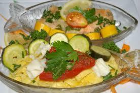 cuisine cuit vapeur saumon en papillote courgettes etc au cuit vapeur