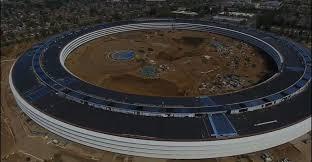 here u0027s a birds eye view of apple u0027s massive new u0027spaceship u0027 campus