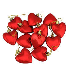 12ct valentines day shatterproof ornaments 2