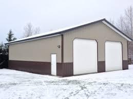 Shed Overhead Door Placement Of Overhead Doors Hansen Buildings