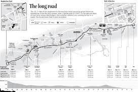 Boston College Map by Boston Marathon Course Map Landmarks Boston Com