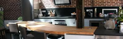 cuisine plan de travail en bois table plan de travail cuisine plan de travail bois table coulissante
