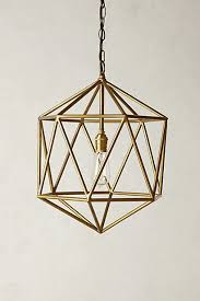 Brass Pendant Lights Best 25 Brass Pendant Light Ideas On Pinterest Geometric