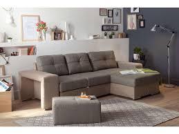 canap d angle blanc conforama canapé d angle convertible et réversible 4 places en tissu serata