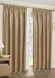 apollo gold thermal pencil pleat curtains com