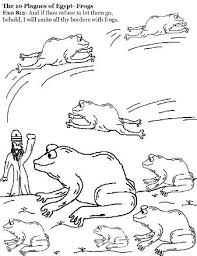 the 10 plagues of egypt coloring pages 10 plagues pinterest
