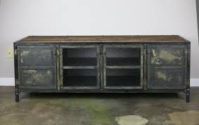 decor vintage iron industrial credenza buffet for artistic