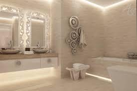 led vanity light strip under the vanity