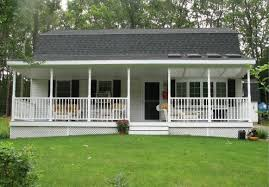 Mobile House Front House Railing Design With Clean Of Lawn Mobile Home Porch