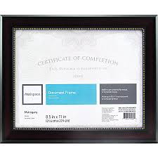 document frame certificate frames at office depot officemax