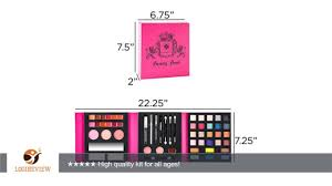 shany all in one makeup palette with tools and eyes lips and face