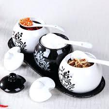 black ceramic canister sets kitchen kitchen canisters ceramic sets for canister sets for kitchen
