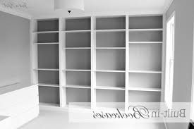 Modern White Bookcases by Built In Bookcase And Room Divider Ideas Contemporary White