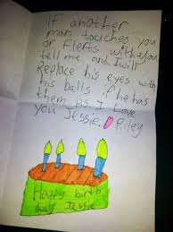 What To Write In A Birthday Card For Your Boyfriend Hilarious Proof That Kids Write Better Birthday Cards Than You