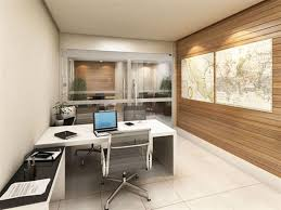 Simple Wooden Office Tables White Themed Cool Home Office Design With Contemporary White Wood