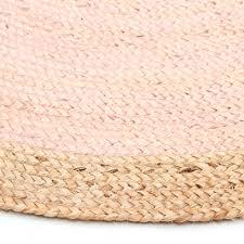 pink round rug uk natural round jute rug pink pink circular
