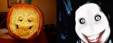 Meme Pumpkin Stencil - pumpkin jeff jeff the killer know your meme