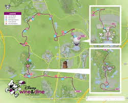 Daylight Savings Map Mouseplanet Recapping 2016 Wine U0026 Dine Half Marathon Weekend By