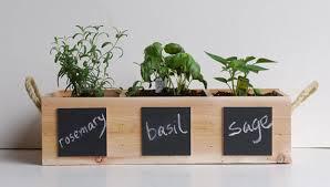 indoor herb garden planter gardening ideas