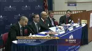 fourth amendment technology panel 3 apr 3 2015 c span org