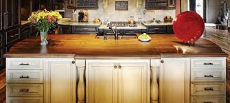 Kitchen Island Construction by Walnut Countertops J Aaron