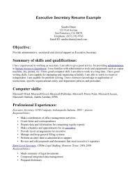 Skills For Resume Example by Legal Secretary Job Description Resume Recentresumes Com