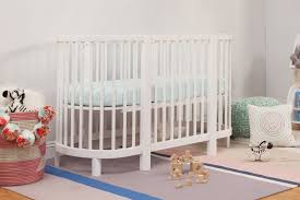 Bassinet Converts To Crib Hula Oval Convertible Crib With Mini Bassinet Conversion Babyletto