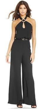 xoxo jumpsuits guess chain wide leg jumpsuit imani i like