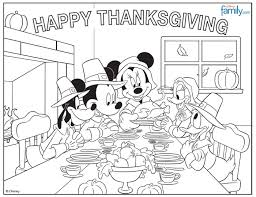 Thanksgiving Coloring Sheets Kindergarten Free Disney Thanksgiving Coloring Pages I Am A Mommy Nerd